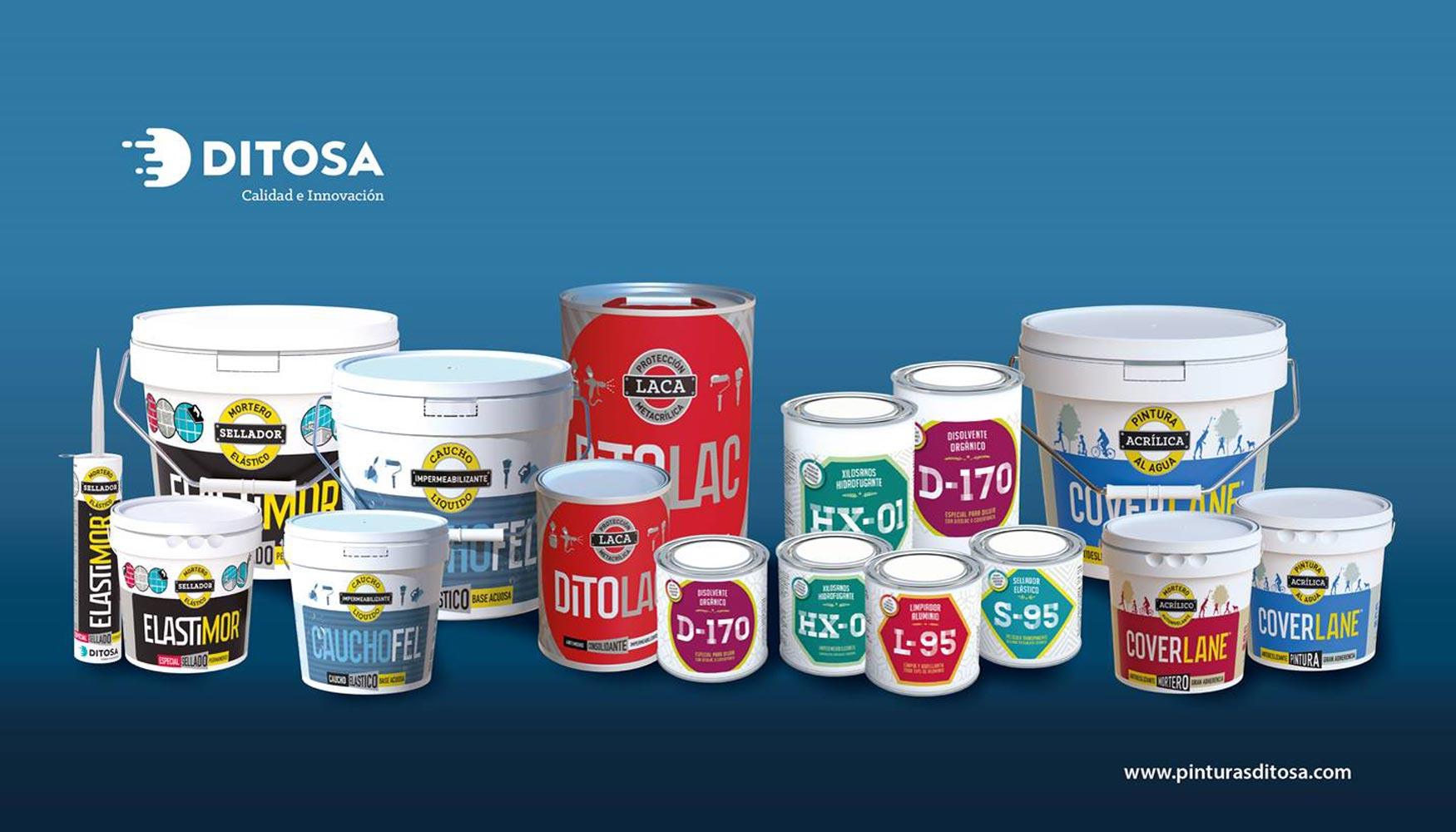 La familia de productos Ditosa